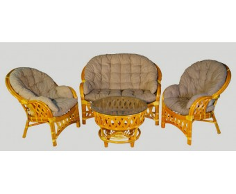 Комплект для отдыха Черчилль с двухместным диваном